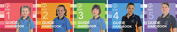 Girl Guide Handbooks