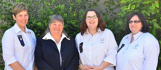 Girl Guides South Australia State Commissioner & Team