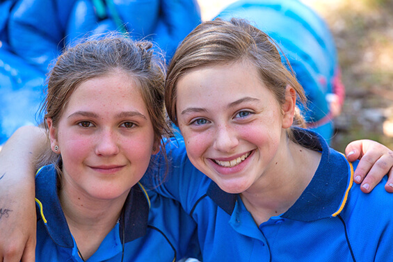 Make a donation to Girl Guides