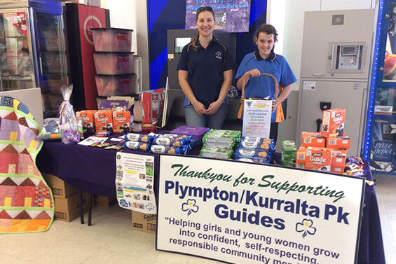 Supporting Girl Guides SA