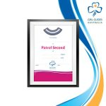 Patrol Second Leader Certificate A5