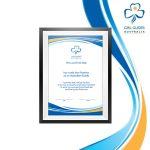 Promise Certificate A4