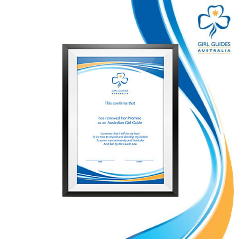 Promise Renewal Certificate A5