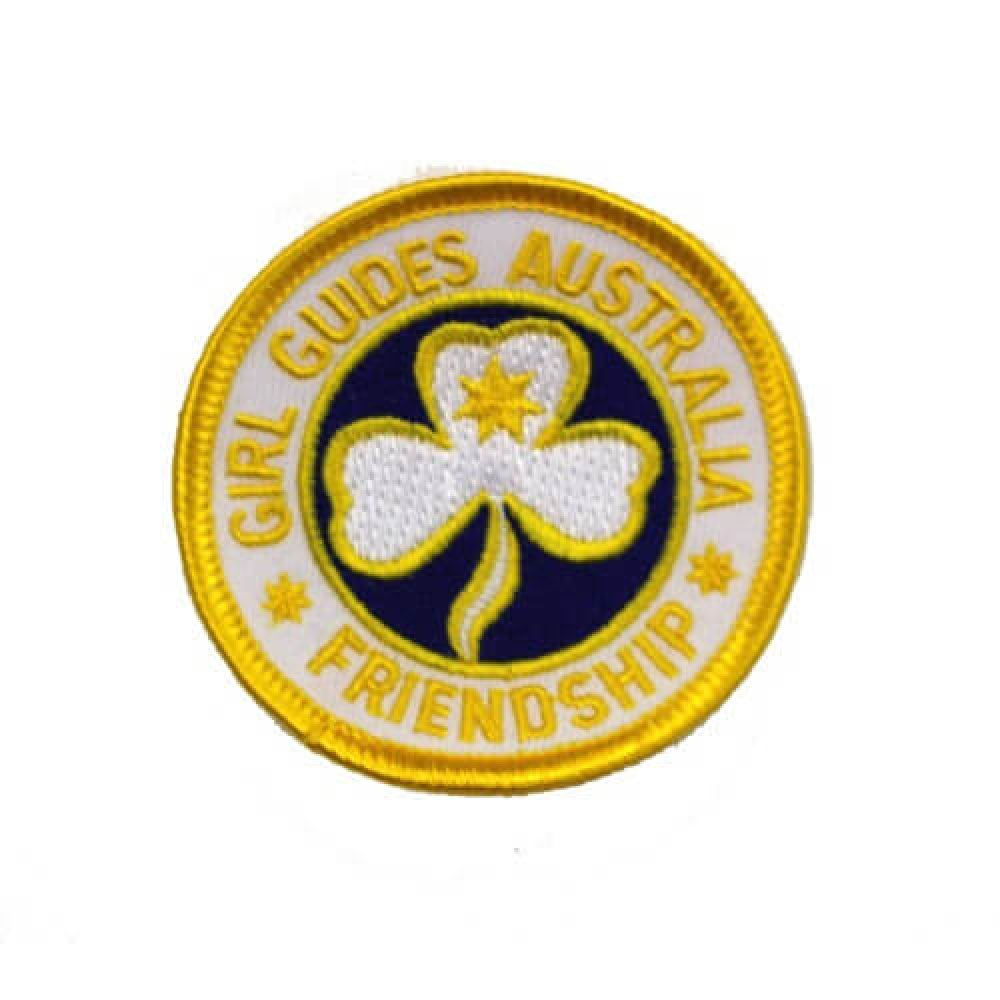 Australian Friendship Cloth Badge